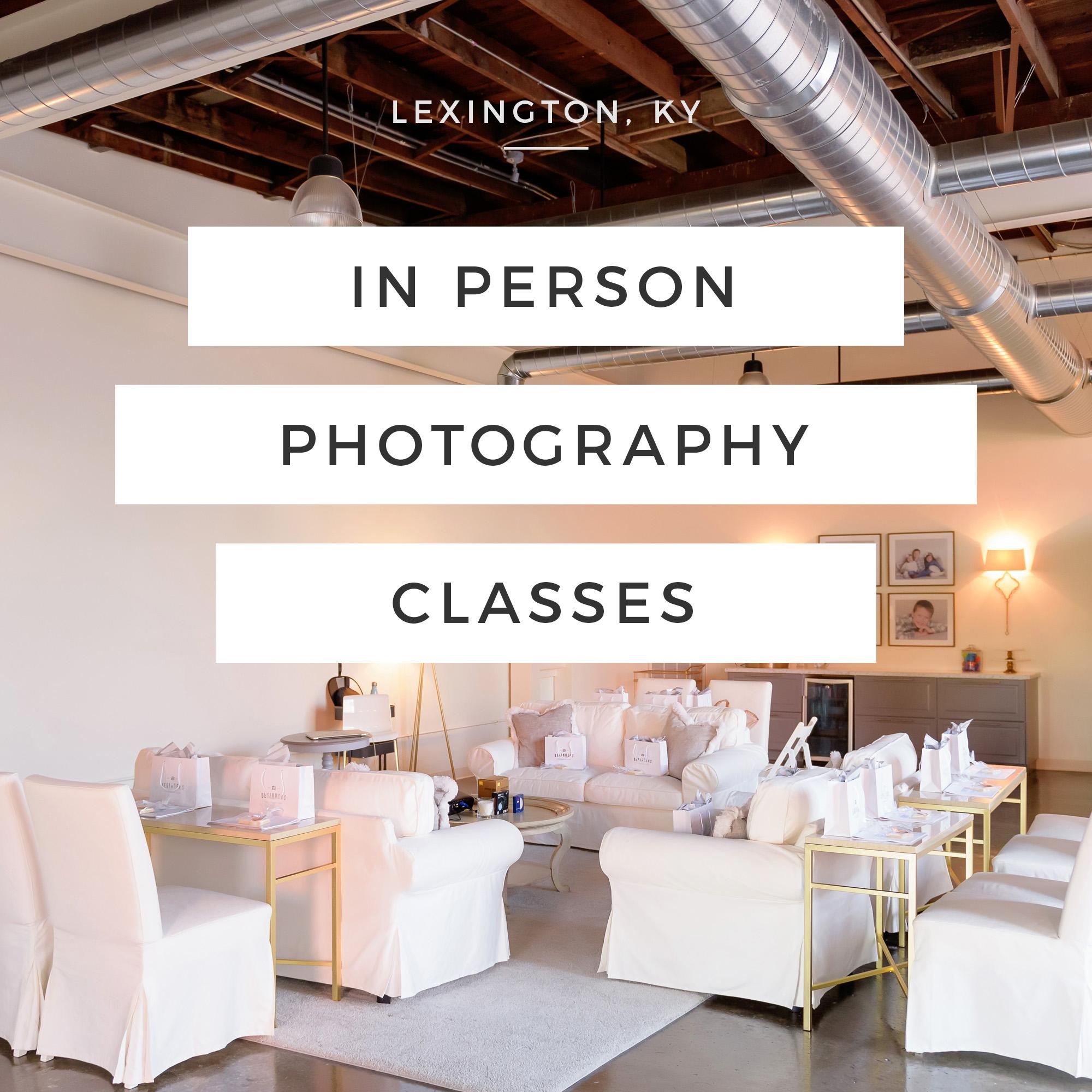 lexington photography classes